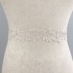 3789d635b9c2 'Ferne' is a luxurious lace leaf belt with delicate freshwater pearls,  Ferne has a matching veil and garter from our sister company The Wedding  Garter Co.