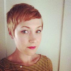 Pixie cut! by @janine_ker_hair