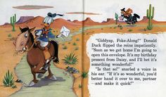 Donald Duck goes to Disneyland 1955 03 - giddyap | por Tom Simpson