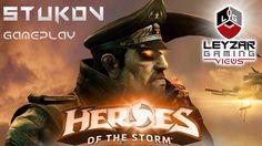 Heroes of the Storm (Gameplay) - Stukov PTR Testing (HotS Stukov Gamepla...