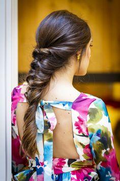48_Esif Fotografia__SIF5100 Ponytail Hairstyles, Diy Hairstyles, Pretty Hairstyles, Wedding Hairstyles, Hairstyle Bridesmaid, Pastel Hair, Cool Hair Color, Hair Dos, Hair Lengths