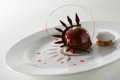 This is creation of Chef Tan Wei Loon during World Pastry Cup