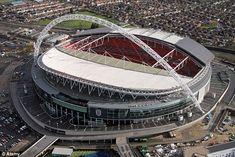 Este es el estadio Wembley de Inglaterra