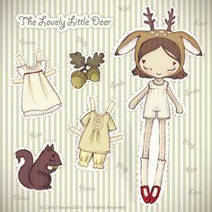 Mimin Dolls: dolls de papel