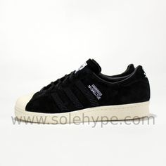 new product c607a 557ca adidas Neighborhood Leather Athletic Sneakers for Men   eBay