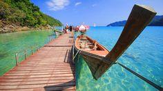 Phuket, Phi-Phi y Krabi... El sur de Tailandia es un auténtico paraíso con algunas de las mejores #playasporelmundo. Nuestro viaje aquí: http://www.telemadrid.es/mxm/madrilenos-por-el-mundo-phuket-phi-phi-krabi