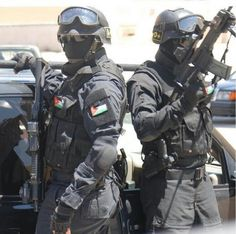 Jordan anti terrorist force