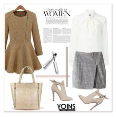"""""""YOINS IV/12"""" by amra-mak ❤ liked on Polyvore featuring Moschino, Jimmy Choo, women's clothing, women's fashion, women, female, woman, misses, juniors and yoins"""
