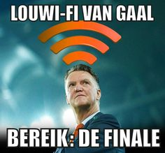 Twitter  LouWiFi van Gaal .. hahaha! ...