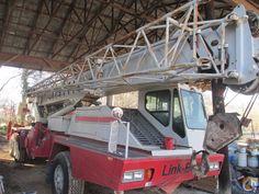 1989 Link-Belt Hydraulic Truck Mounted Crane for Sale Truck Mounted Crane, Cranes For Sale, Detroit Diesel, Trucks, Truck
