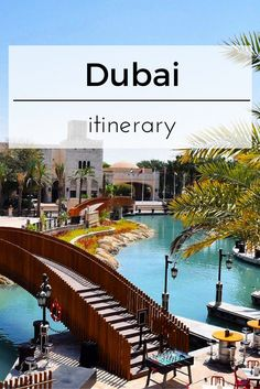 What to do and where to go when you are in Dubai. Find out and read the itinerary.