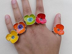 Items similar to silver ring,colorful ring,flower ring,for her,for teens on Etsy silver ringcolorful ringflower ringfor herfor teens by atermono Anniversary Rings For Her, Mom Ring, Shops, Silver Roses, Silver Ring, Cute Rings, Pink Ring, Color Ring, Tiny Flowers