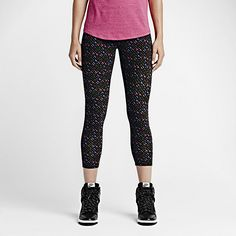 Nike Leg-A-See Allover Print Women's Cropped Leggings. Nike Store