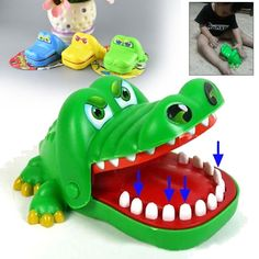 Crocodile Mouth Dentist Bite Finger Game Funny Toy Funny Novelty Gag Toy For Kids Children Adult Fun Gifts #Affiliate