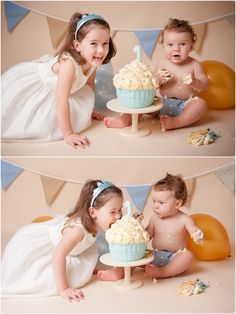 Cake Smash with older sibling