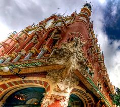 palau de la musical catalana barcelona spain | Recent Photos The Commons Getty Collection Galleries World Map App ...