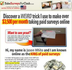 Take Surveys For Cash - What they really do is take you for a ride! howtoearnalivingu...
