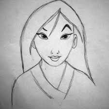 drawing of mulan drawing help drawings, disney - mulan sketch Disney Pencil Drawings, Disney Drawings Sketches, Easy Disney Drawings, Disney Character Drawings, Easy Drawings, Drawing Sketches, Drawing Ideas, Drawing Disney, Drawing Pictures