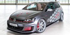 "Volkswagen Apprentices Built a 394-HP Golf GTI Concept. 20"" BBS wheels."