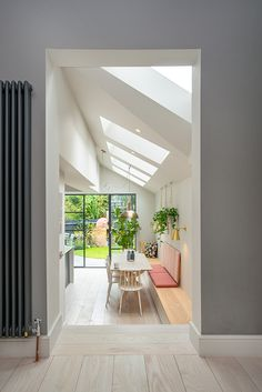Side Return Extensions Project - home ideas , Open Plan Kitchen Living Room, Home Decor Kitchen, Kitchen Ideas, Kitchen Modern, Style At Home, Side Return Extension, Rear Extension, Kitchen Diner Extension, Kitchen Extension Victorian