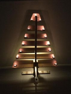 DIY Pallet Tree With Tea Lights | Pallet Furniture