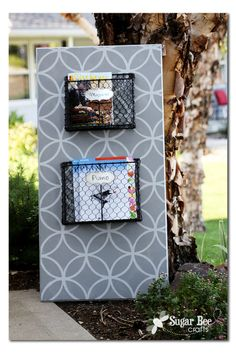 Magazine Rack Board - and Silhouette DEAL - Sugar Bee Crafts