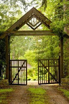 Gate Entry - very pretty