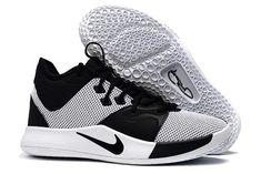 b8f39a886d4b Shop Men s Nike PG 3 White Black Shoes 2019