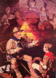 Scout Memories | Norman Rockwell