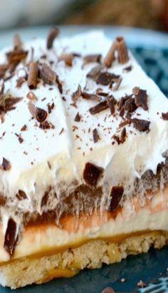 Chocolate Caramel Layered Dessert