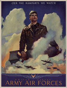 world war ii poster by deflam, via Flickr