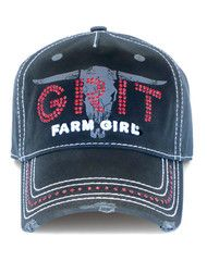 Farm Girl Girl Grit Twill Cap