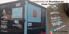 Impresión de Playeras en Vinil Textil La Wafrenética