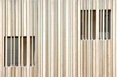 muntboat / BYTR architecten architecture, wooden facade, detail