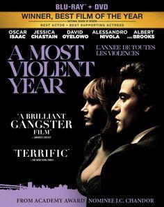 A Most Violent Year: Blu-ray: Oscar Isaac, Jessica Chastain, David Oyelowo, Alessandro Nivola, Albert Brooks, J. C. Chandor: DVD