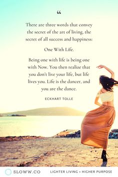 Art of Living Quote by Eckhart Tolle