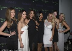 Where's Sam Wood? The girls from The Bachelor Australia posed for a group photo...