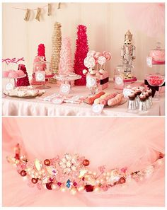#bling #pink #tulle party