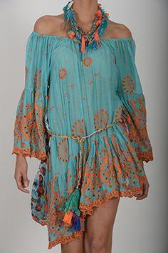 Antica Sartoria Dress 100% Cotton One Size