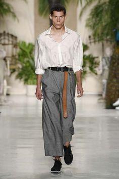 Rochambeau Fashion show menswear collection Spring Summer 2017 in New YorkNYTCREDITS NOWFASHION