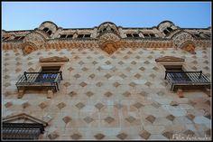 11 Fachada 099  Palacio del Infantado , Guadalajara, Spain  Por Félix Abánades