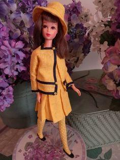 Vintage Mod Francie Barbie BORDERLINE Border Line #1287 Complete Rare NEAR MINT