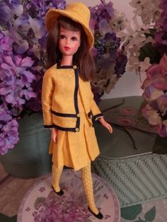 Vintage Mod Francie Barbie BORDERLINE Border Line #1287 Complete Rare NEAR MINT