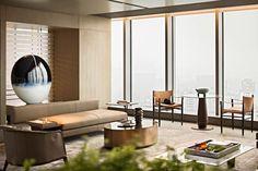 博地中心会所,云端林泉 · 大隐于市 !| 春山秋水-建e室内设计网-设计案例 Hangzhou, Time Design, Sculpture Art, Lounge, Interior Design, Living Room, Furniture, Home Decor, Times