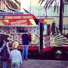 The No. 1 Currywurst Truck of Los Angeles is a Food Truck in Los Angeles, CA, USA popular with Men, Dog People