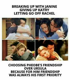 Joey knows what friendship is