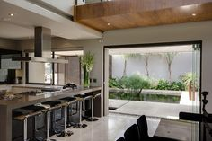 AECCafe.com - ArchShowcase - House Sedibe in Bryanston, Johannesburg by Nico Van Der Meulen Architects