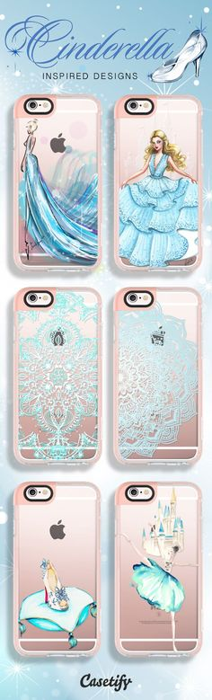 Straight out from the fairy tale. Shop these #Cinderella inspired designs here: www.casetify.com/...