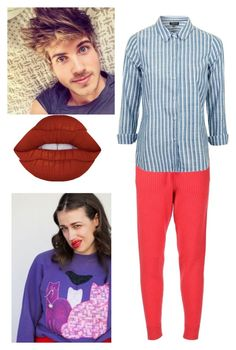 """""""Miranda sings starter pack"""" by sharpcheddar1 on Polyvore featuring Baja East, Topshop and Lime Crime"""