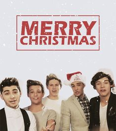 Merry Christmas From One Direction!!